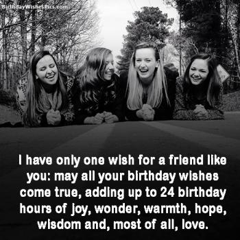 best friend birthday images with wishes