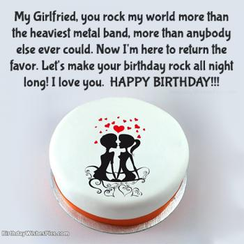 birthday greetings for girlfriend