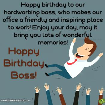 birthday images for boss