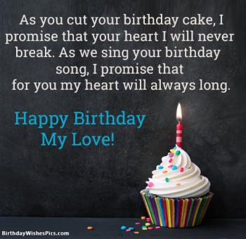 Romantic Happy Birthday Wishes For Lover With Images