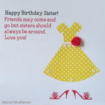 birthday pics for sister