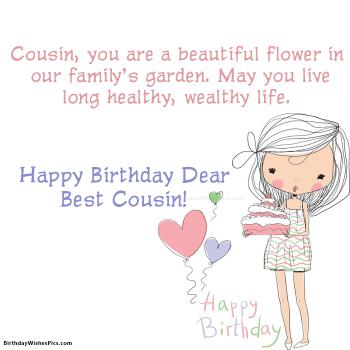 Birthday wishes for cousin happy birthday cousin images view hd birthday wishes for cousin female images m4hsunfo