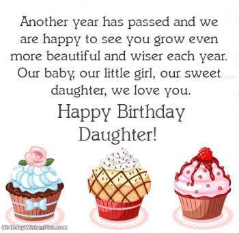 View HD Birthday Wishes For Daughter