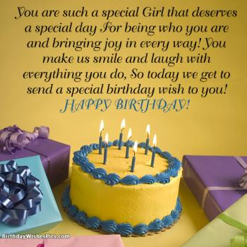 birthday wishes for female friend