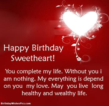 Romantic happy birthday wishes for lover with images view hd birthday wishes for lover m4hsunfo
