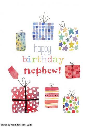 birthday wishes for nephew images
