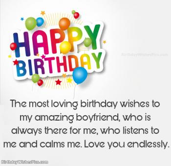 birthday wishes images for boyfriend