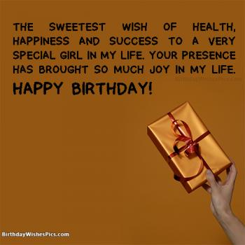 birthday wishes images for girls