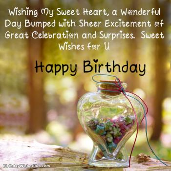 birthday wishes images for lover