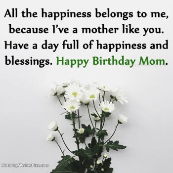 Birthday Wishes images for Mom