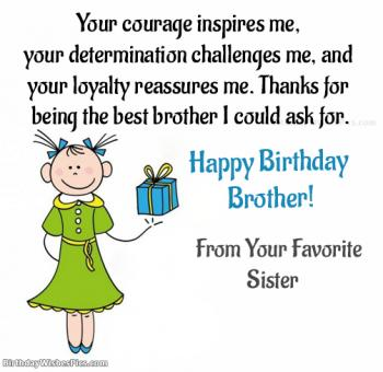 Happy Birthday Wishes For Brother Very First Best Friend