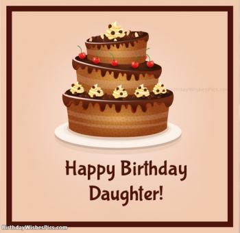 daughter birthday wishes images