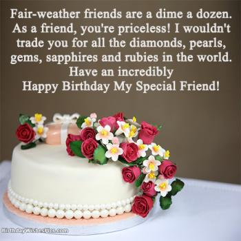 Best Happy Birthday Wishes For Special Friend With Images