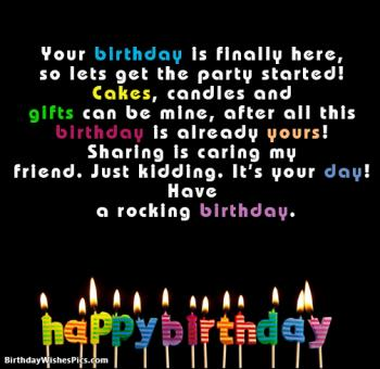 funny birthday images for girl