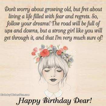 girl happy birthday images