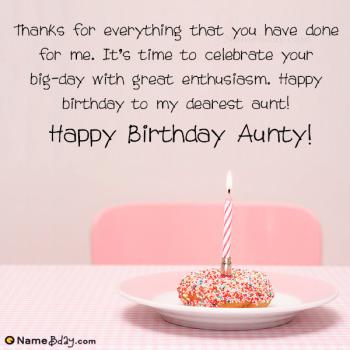 happy birthday aunty images