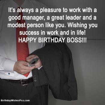 happy birthday boss images