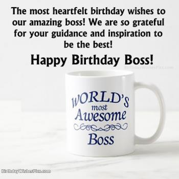 happy birthday boss pictures