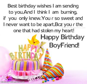 happy birthday boyfriend images