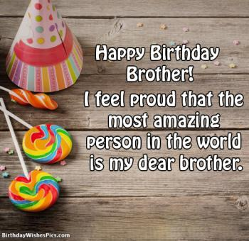 happy birthday brother pics