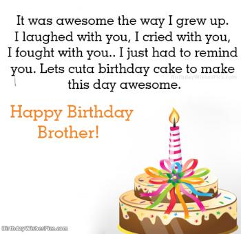 happy birthday brother pictures