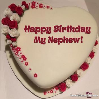 happy birthday cake for nephew