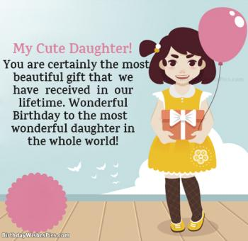 Sensational Special Birthday Wishes For Daughter From Mom And Dad Personalised Birthday Cards Veneteletsinfo