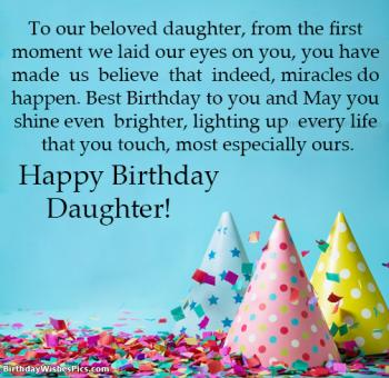 happy birthday daughter pics