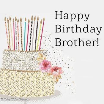 happy birthday dear brother pics