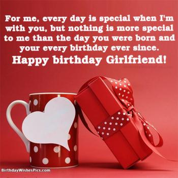 happy birthday girlfriend images