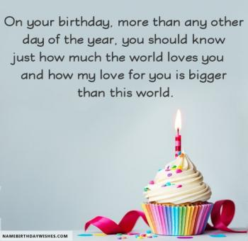 happy birthday images for lover