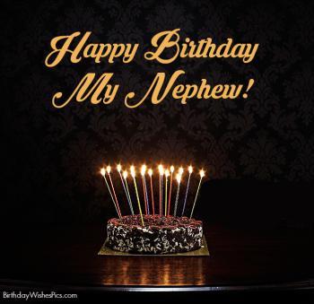 happy birthday images for my nephew