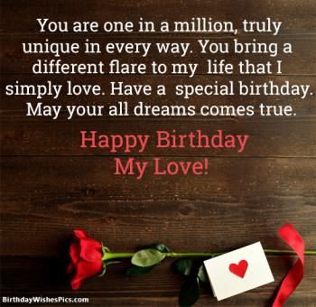 Romantic happy birthday wishes for lover with images happy birthday love images m4hsunfo