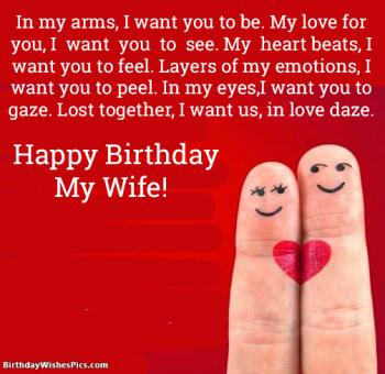 happy birthday my wife images