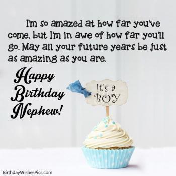 happy birthday nephew qoutes and images