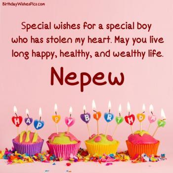 happy birthday nephew wishes images