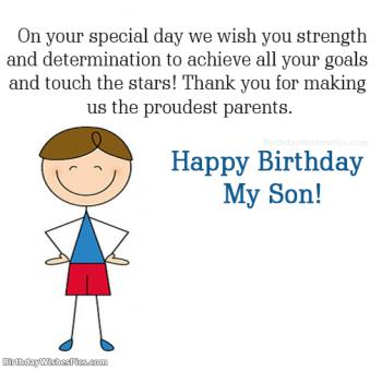 happy birthday son images