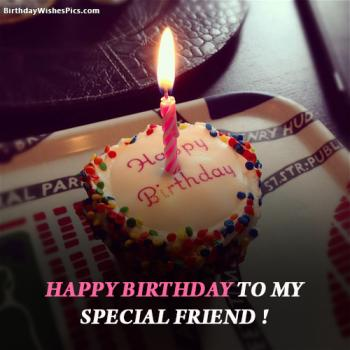 happy birthday to special friend
