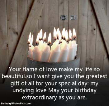 lover birthday images with wishes