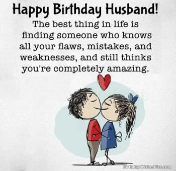 romantic happy birthday husband images