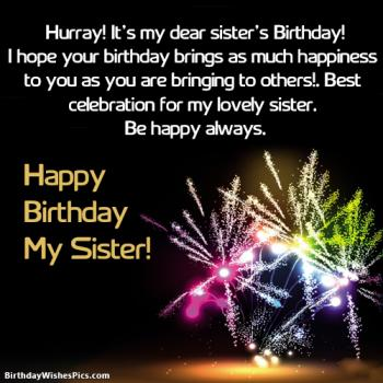 sister birthday images with messages
