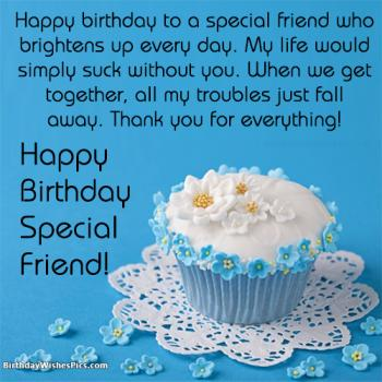 special friend birthday images