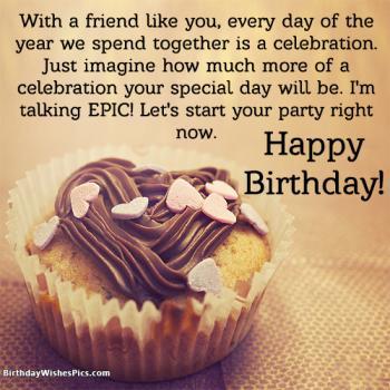 special friend birthday wishes