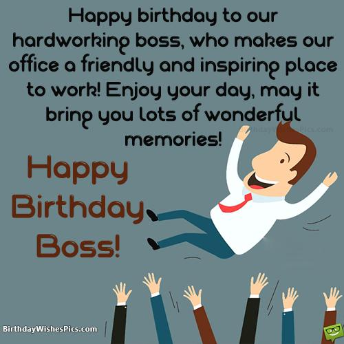 Happy Birthday To Boss Quotes: Download