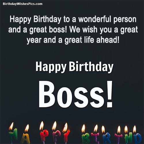Best ever birthday wishes for boss with images m4hsunfo