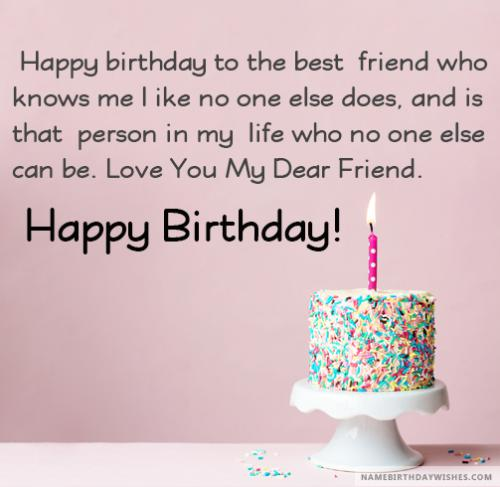 Happy Birthday Wishes For Friend With Images And Video