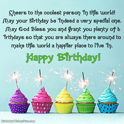 Special Happy Birthday Wishes For Girls With Images